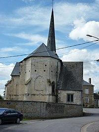 Écly (Ardennes) église, chevet.JPG
