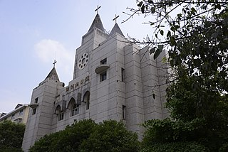 Church of Our Lady of Lourdes, Mianyang Church in Sichuan, China