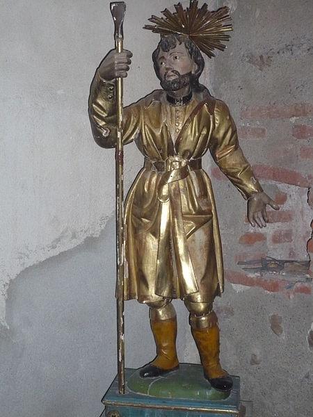 Saint-Gaudérique à l'église Notre-Dame-des-Anges à Cabestany