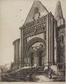 Église de Vouvant, par Octave de Rochebrune - Portail nord.png