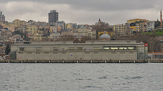 İstanbul Modern Contemporary art museum in Istanbul, Turkey
