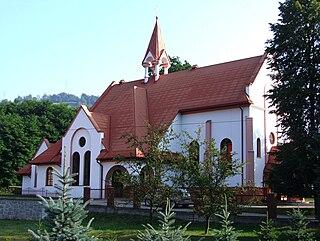 Łomnica-Zdrój Village in Lesser Poland, Poland