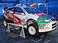 Škoda Fabia WRC (F. Duval & P. Pivato) Goodrich Festival Speed 2006.jpg
