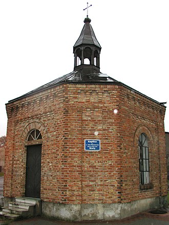 Chapel of St. John of Nepomuk, Zawiercie - Image: Źródło Warty