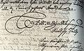 Автограф Сагайдачного 1622 рік веб.jpg