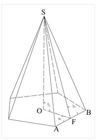 Пирамида геометрия Википедия Элементы пирамиды править править код