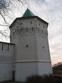 Башня, Николо-Пешношского монастыря, посёлок Луговой.jpg