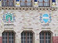 Будинок губернського земства. Фасад с гербами.2.JPG