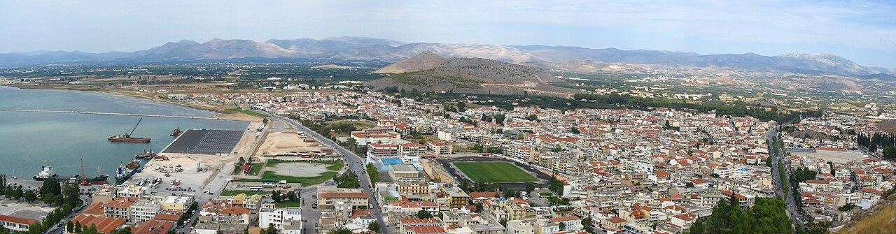 Η σύγχρονη πόλη του Ναυπλίου