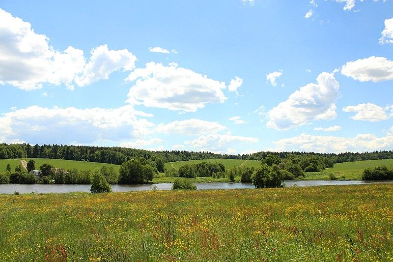 Файл: Вид на луга усадьбы Мураново.jpg