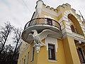 Главный дом усадьбы фон Дервиза, деталь фасада. Кирицы, Спасский район, Рязанская область.jpg