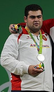 Gor Minasyan (weightlifter) Armenian weightlifter
