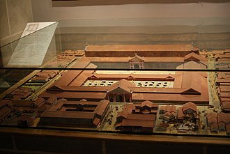 Londinium - A model of the expanded forum at the Museum of London