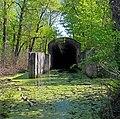 Напівзатоплений тунель сталінського метро на Жуковому острові, Київ.jpg