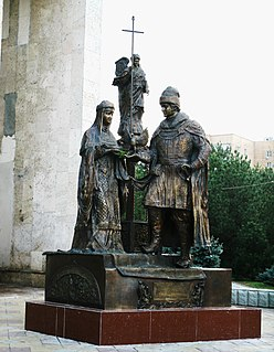 Monument to Peter and Fevronia (Bataysk)