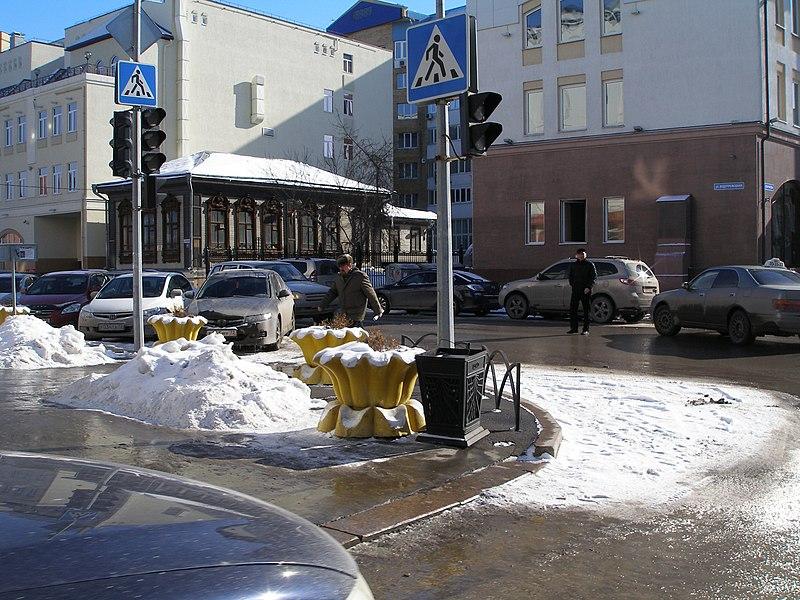 File:Перекрёсток улиц Хохряково и Водопроводной - panoramio.jpg