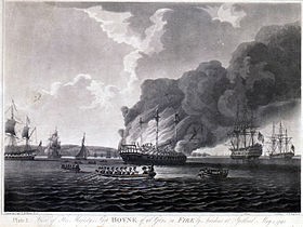 Image illustrative de l'article HMS Boyne (1790)