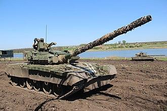 Ukrainian Air Assault Forces - T-80BV of 95th Air Assault Brigade