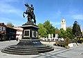 Филип II Македонски и Сахат кула у Битољу.jpg