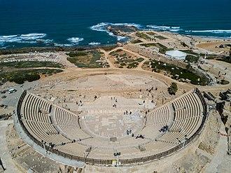 Caesarea Maritima - The theatre