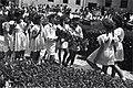 """ירושלים - חגיגת הבאת ביכורים לקק""""ל, בחצר המוסדות בירושלים.-JNF039450.jpeg"""