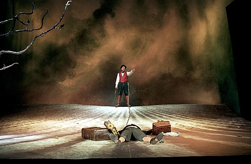 'Waiting for Godot', Habima National Theatre, Tel Aviv. Directed by Ilan Ronen, 2002