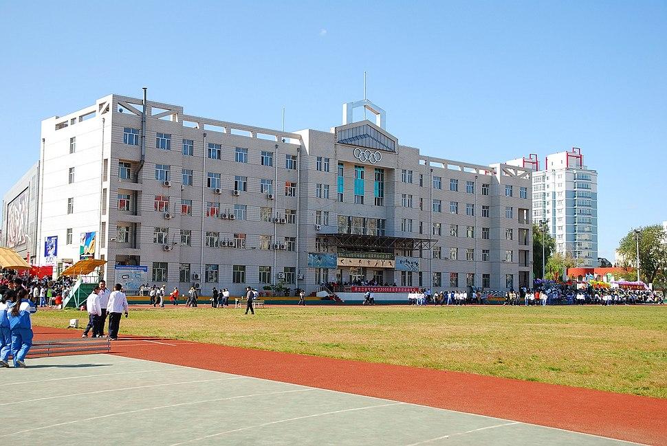 哈尔滨体育学院体育场 - panoramio
