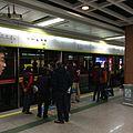 广佛线西朗站往魁奇路方向月台.JPG