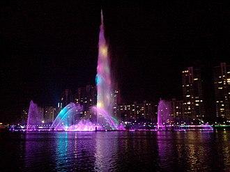 Jieyang - Jieyang music fountain