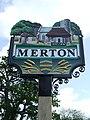 -2011-05-19 The village sign, The Green, Merton, Norfolk.jpg