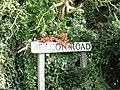 -2018-09-03 Street name sign, Beacon Road, Trimingham, Norfolk.JPG