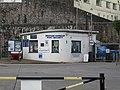 -2019-04-25 Brixham Harbour port security gatehouse.JPG