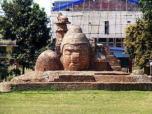 Patna Museum - Image: 002 Brick Sculpture (9218736145)