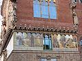024 Hospital de Sant Pau, edifici d'Administració, mosaic del testament de Pau Gil.JPG