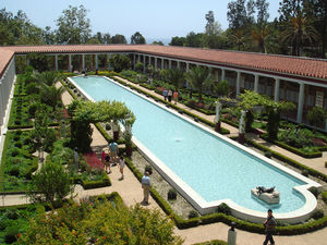Gardens of the Getty Villa, Malibu