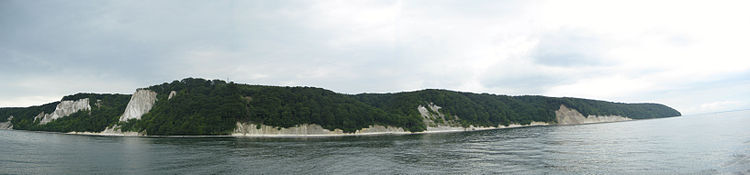 Jasmund National Park chalk cliffs