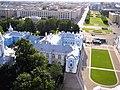 080. St. Petersburg. Smolny monastery. Residential building.jpg