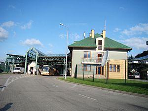 Poland–Ukraine border - The Krościenko-Smilnytsya border checkpoint