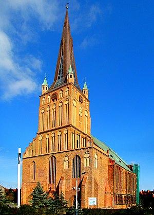 Szczecin Cathedral - Image: 0910 Bazylika archikatedralna św Jakuba Szczecin