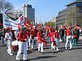 1. Mai 2013 in Hannover. Gute Arbeit. Sichere Rente. Soziales Europa. Umzug vom Freizeitheim Linden zum Klagesmarkt. Menschen und Aktivitäten (147).jpg