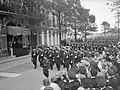 100 jaar KIM Den Helder bezoekdag koningin Juliana. Defilé, Bestanddeelnr 906-7908.jpg