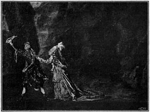 1773 in Sweden - Elisabeth Olin and Carl Stenborg in Orpheus at Bollhuset.