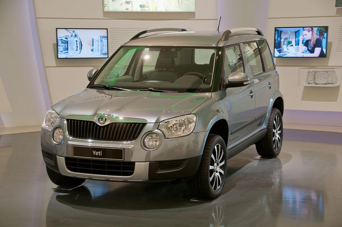 Škoda Yeti - Βικιπαίδεια