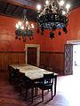 139 Castell de Santa Florentina (Canet de Mar), menjador de la família.JPG