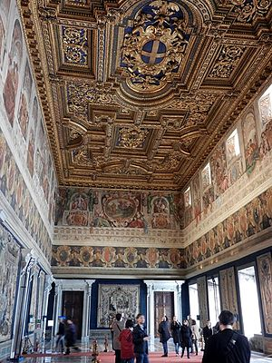 Quirinal Palace - Sala dei corazzieri