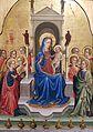 1425 di Antonio di Bartolomeo Thronende Madonna mit Kind und zehn Engeln anagoria.jpg
