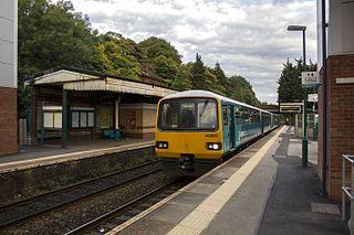 Llandaf railway station Railway station in Cardiff, Wales