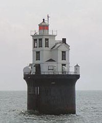 National Register of Historic Places listings in Delaware - Fourteen Foot Bank Light
