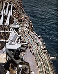 14in shells on deck of USS New Mexico (BB-40) in 1944.jpg