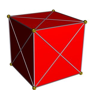 Regular 4-polytope - Image: 16 cell ortho cell centered
